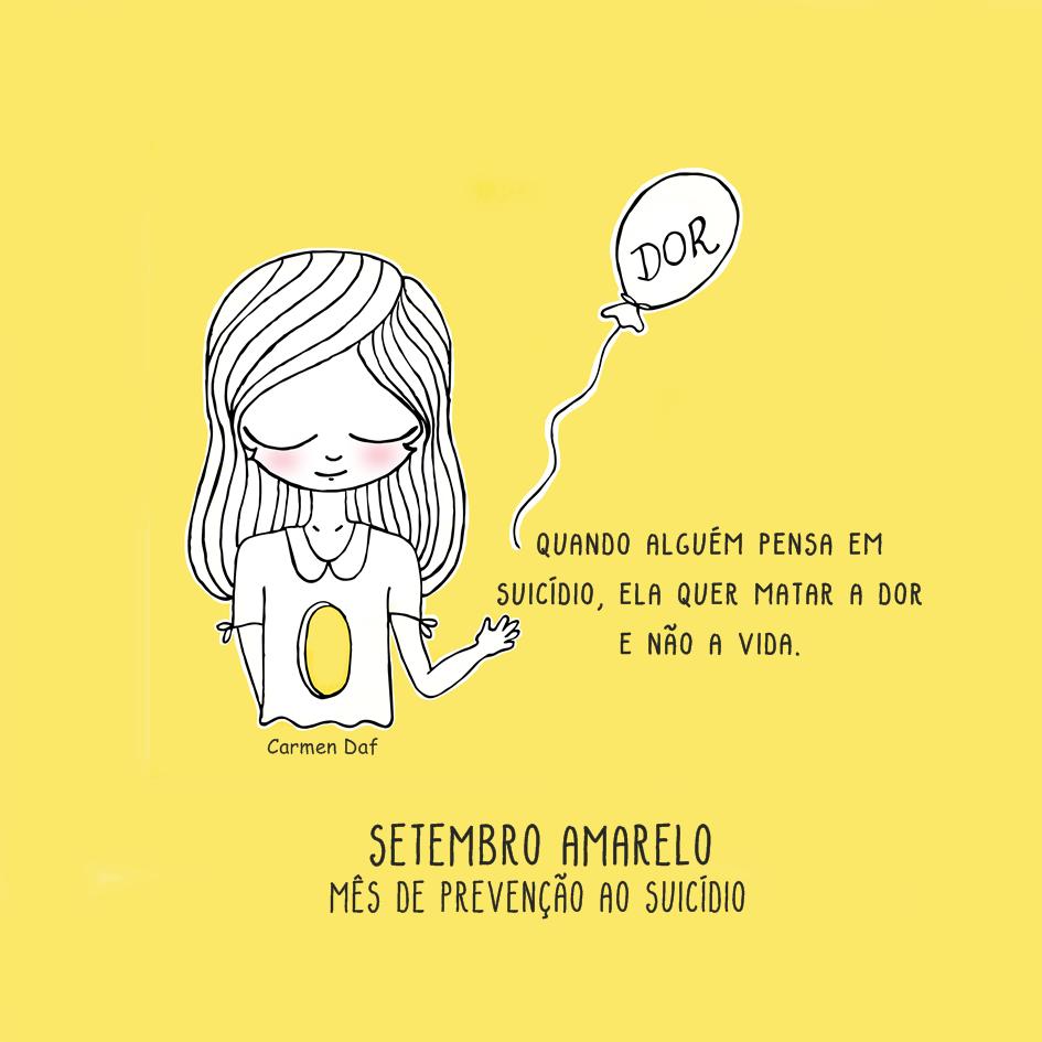 Campanha Setembro Amarelo Mês De Prevenção Ao Suicídio