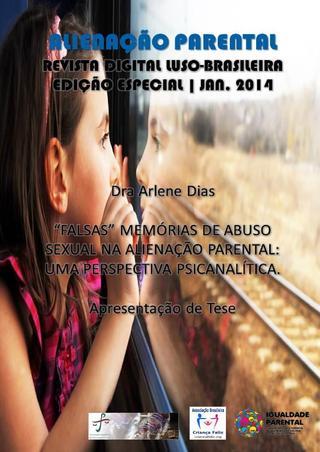 Capa: Alienação Parental - Edição Especial - jan 2014