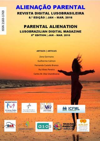 Capa: Alienação Parental - 8ª Edição - jan/mar 2016
