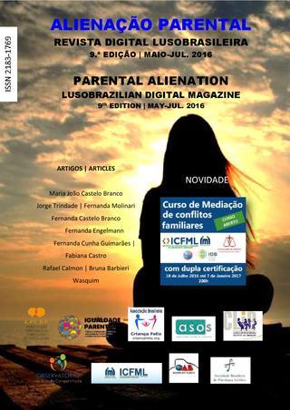 Capa: Alienação Parental - 9ª Edição - mai/jul 2016