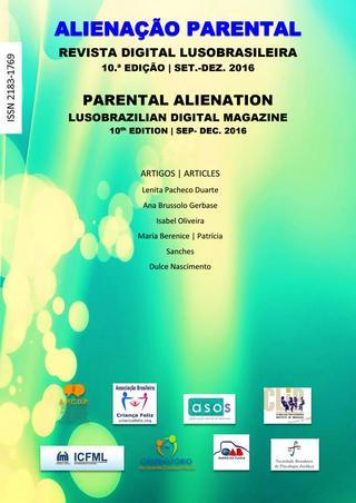 Capa: Alienação Parental - 10ª Edição - set/dez 2016