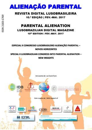 Capa: Alienação Parental - 10ª Edição - fev/mai 2017