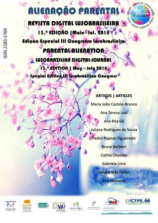 Capa: Alienação Parental - 13ª Edição - mai/jul 2018