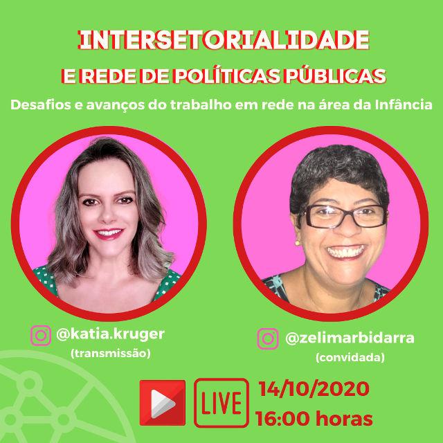 [LIVE] Intersetorialidade e Rede de Políticas Públicas: Desafios e avanços do trabalho em rede na área da infância