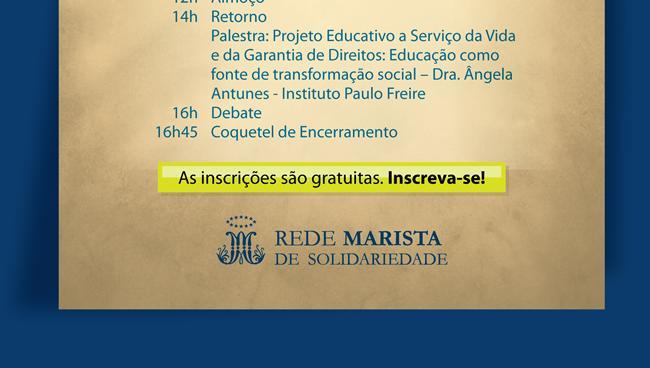 EVENTO - 5º Congresso Marista de Educadores Sociais