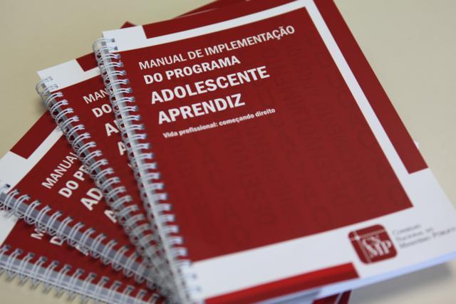 Vida Profissional: Começando Direito - Manual de Implementação do Programa Adolescente Aprendiz