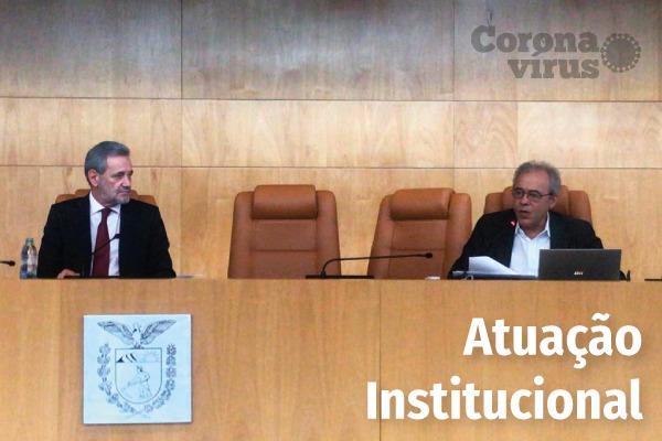 COVID-19 - Centro de Apoio participa de webcast