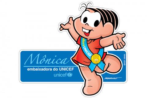 Mônica: Embaixadora do UNICEF no Brasil desde 2007