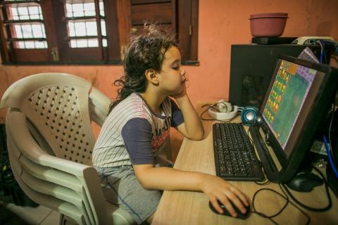 Covid-19: Mais de 95% das crianças estão fora da escola na América Latina e no Caribe, estima o UNICEF