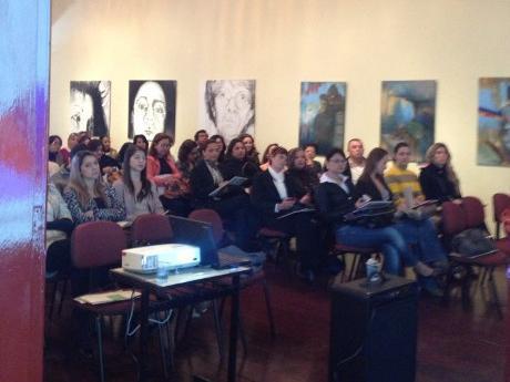 Participantes do evento (Foto do Facebook de Angela Mendonça)