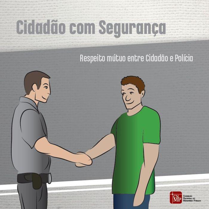 PUBLICAÇÃO - CNMP lança cartilha Cidadão com Segurança na comunidade da Rocinha