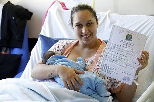 REGISTRO CIVIL - Central de Informa��es incentivar� registro de nascimento em maternidades