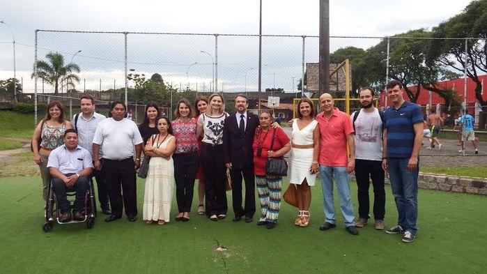 Inauguração da Casa de Passagem em Curitiba/PR