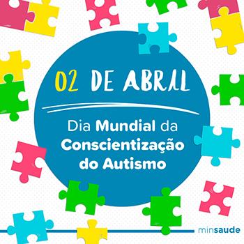 CALENDÁRIO - Dia Mundial de Conscientização do Autismo