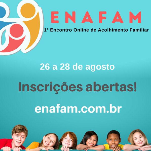 EVENTO - 1º Encontro Online de Acolhimento Familiar