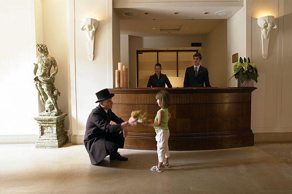 Recepção - Hotel Savoy - Firenze, Itália