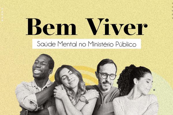 Capa do livro Bem Viver: Saúde mental no Ministério Público (CNMP, 2020)