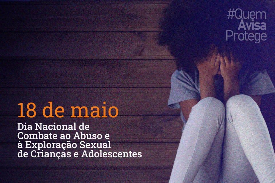 #QuemAvisaProtege - Menina chorando com mão no rosto